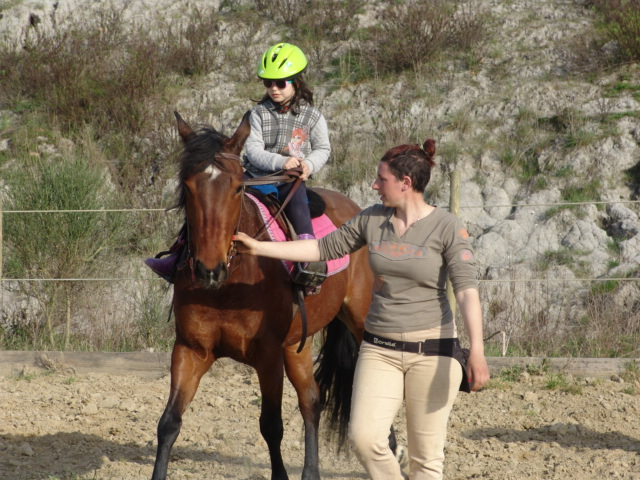 lesson riding tuscany in montaione
