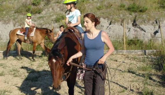lezioni di equitazione a montaione