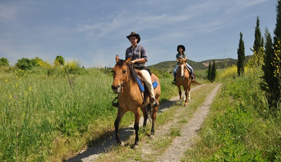 agriturismo with pool and horse riding centre